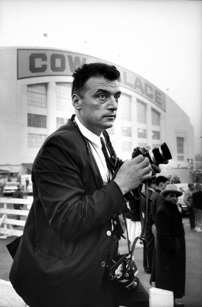 Carlo Bagavnoli with camera (Photo by Carlo Bagavnoli/The LIFE Picture Collection via Getty Images)