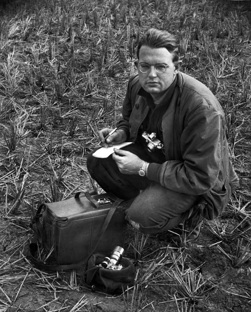 Portrait of Howard Sochurek. (Photo by Howard Sochurek/The LIFE Picture Collection © Meredith Corporation)