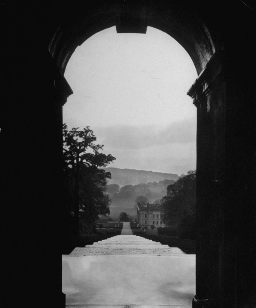 Architecture of an English castle. (Photo by Ian Smith/The LIFE Picture Collection © Meredith Corporation)