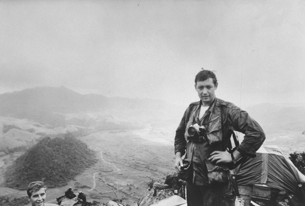 Co Rentmeester with his camera. (Photo by Co Rentmeester/The LIFE Picture Collection © Meredith Corporation)
