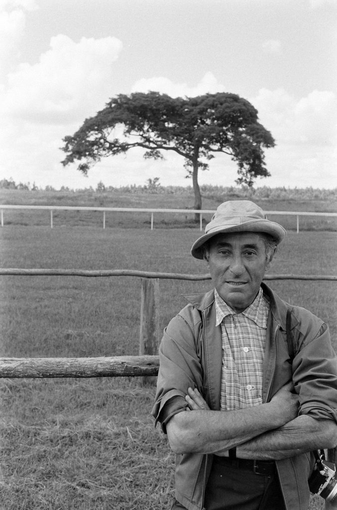 Portrait of Alfred Eisenstaedt on assignment in Kenya, 1966. (Photo by Alfred Eisenstaedt/The LIFE Picture Collection © Meredith Corporation)