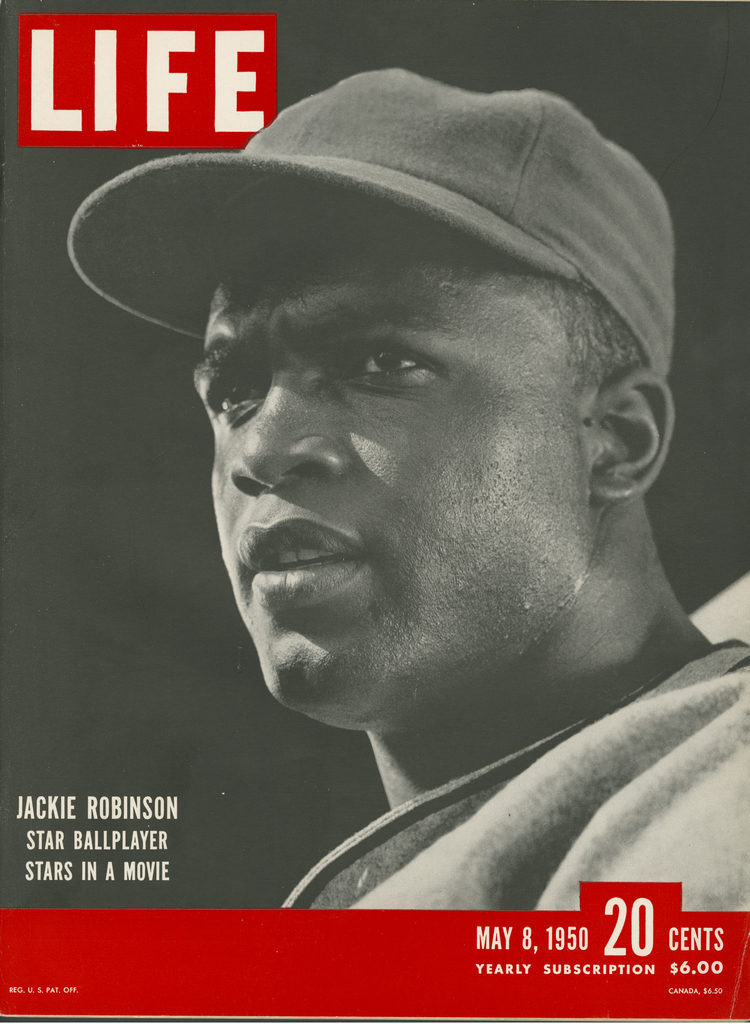 LIFE magazine cover published May 8, 1950 featuring baseball great Jackie Robinson. (Photo by J.R. Eyerman/The LIFE Picture Collection © Meredith Corporation)