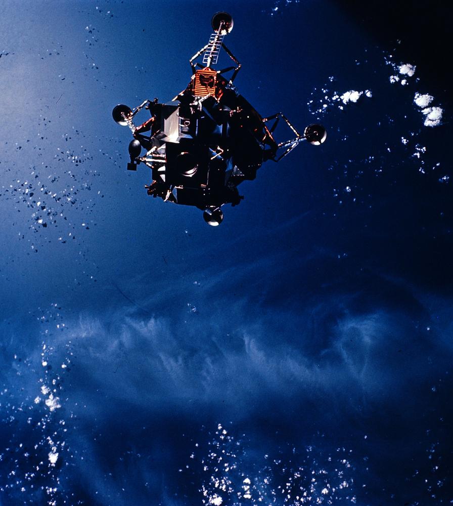 Apollo 9 lunar module, March 1969