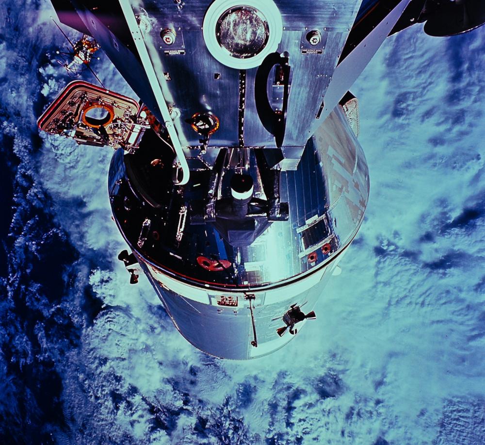 Apollo 9 and the lunar module, 1969