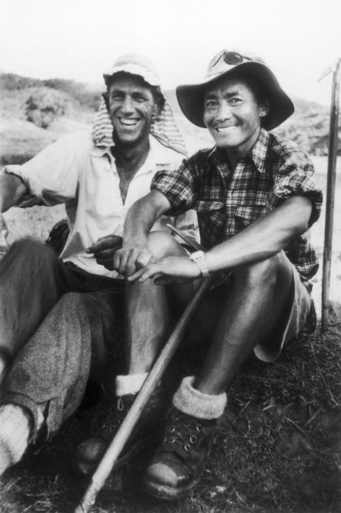 Edmund Hillary and Tenzing Norgay 1953