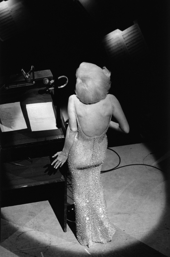 "Marilyn Monroe sings ""Happy Birthday"" to JFK, New York, 1962."