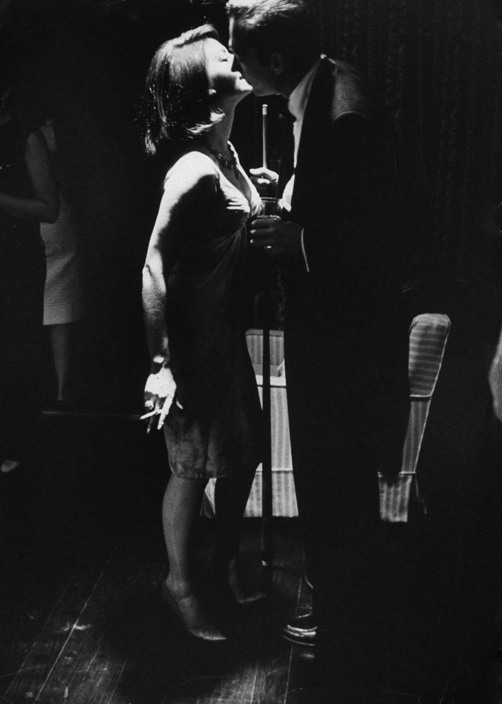 Natalie Wood and Arthur Loew Jr., 1963.