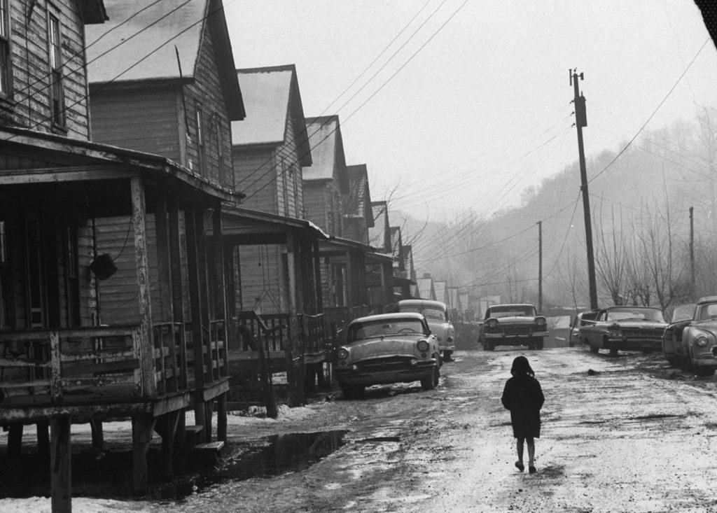 Appalachia, eastern Kentucky, 1964.