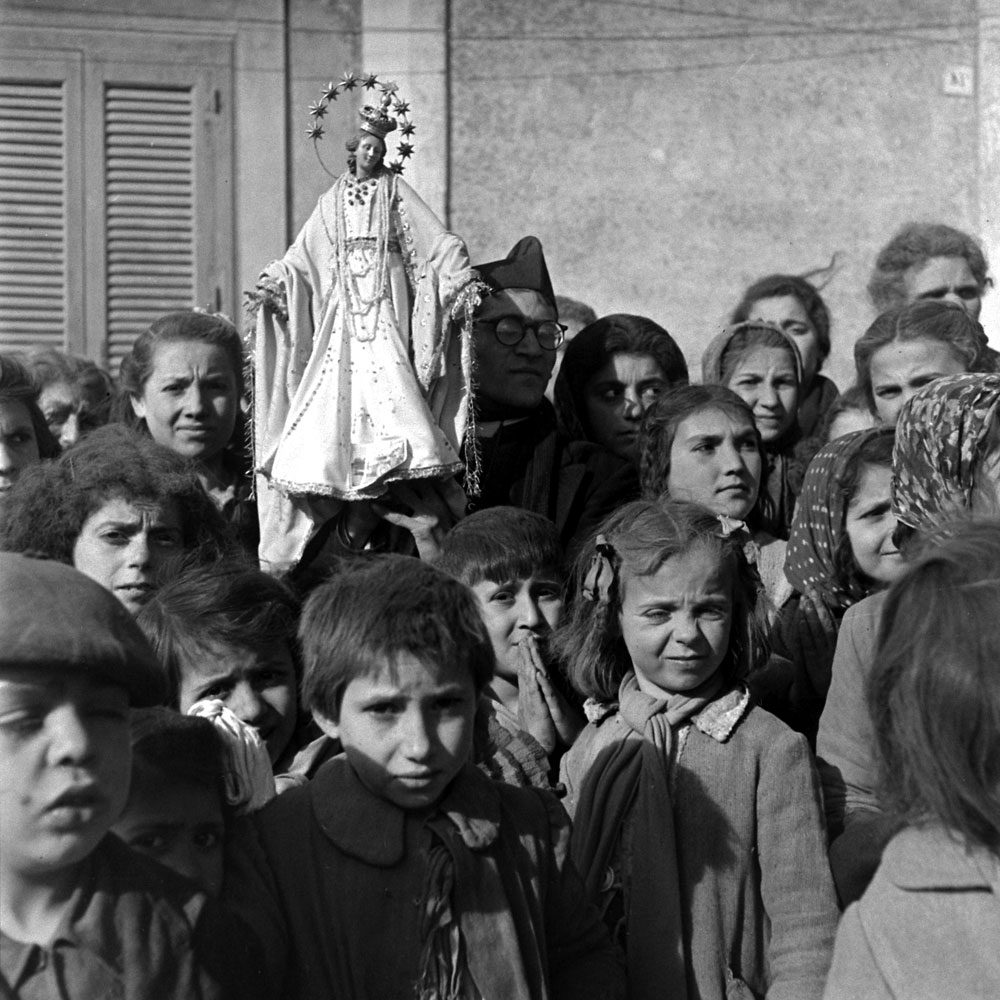 Children, Italy, 1944.