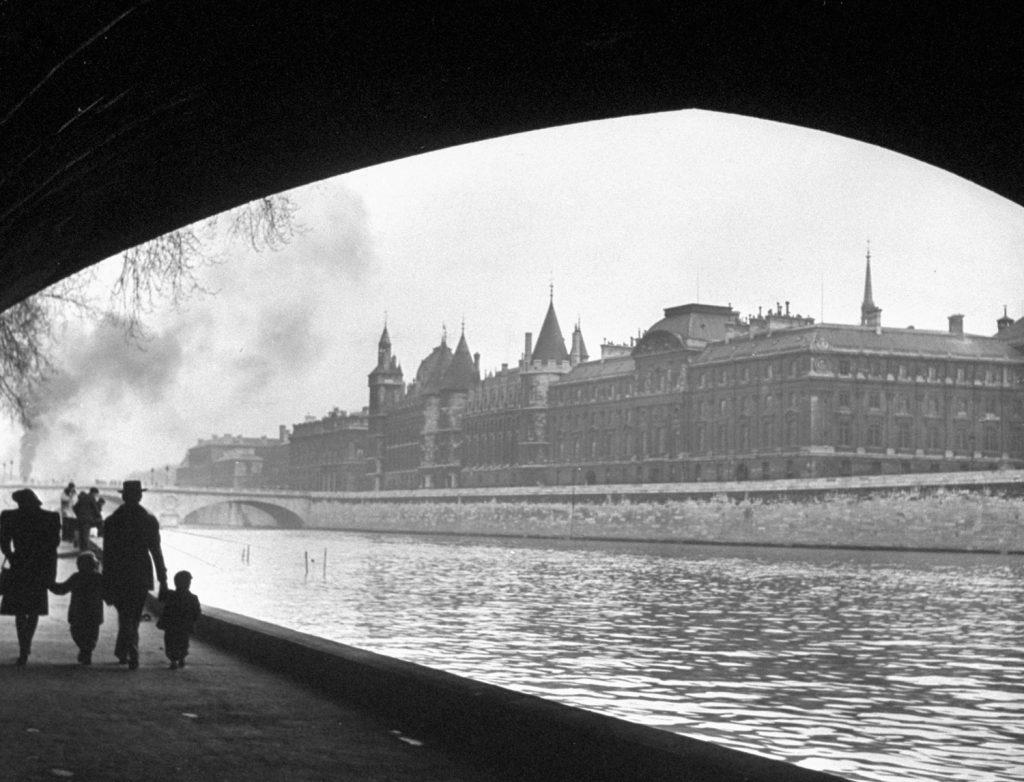 Scene on the Seine, 1946.