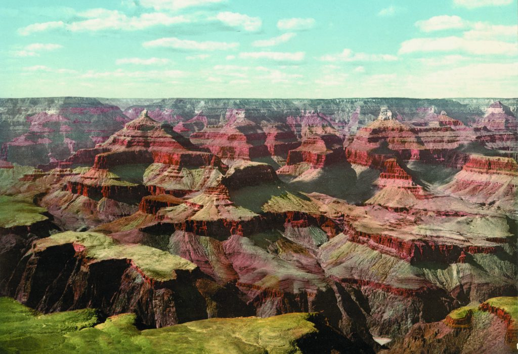 """Grand Canyon, view from O'Neill""""s Point, Arizona, photochrom"""