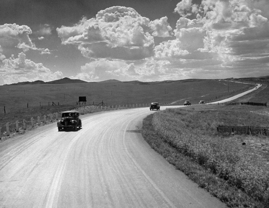 Route 30 Nebraska, USA, 1948.