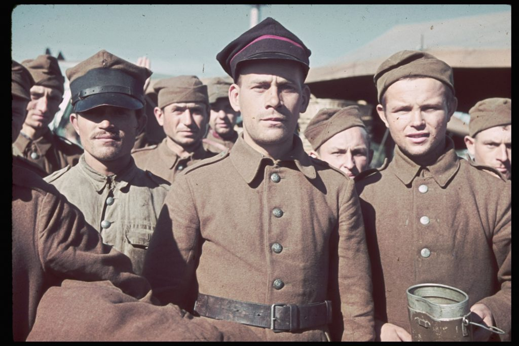 Captured Polish soldiers, 1939.