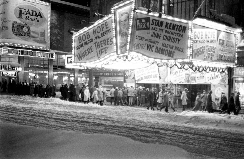 Blizzard, New York City, December 1947.