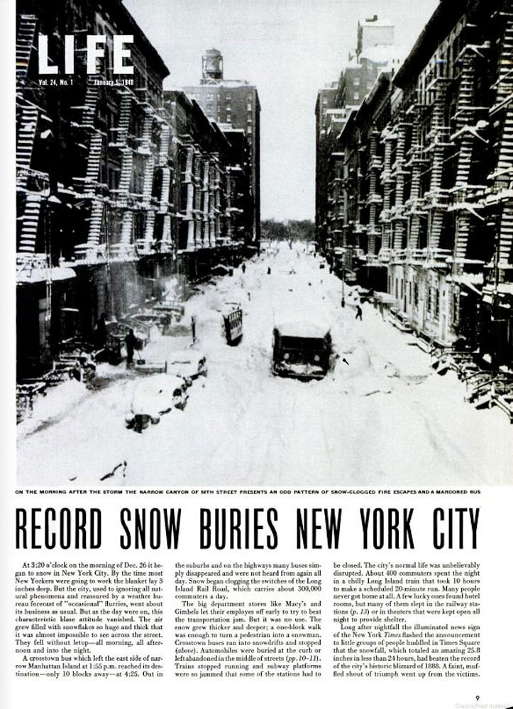 January 5, 1948 Issue of LIFE Magazine