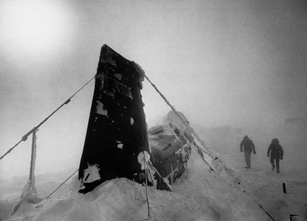 New Hampshire's Mount Washington, 1953.