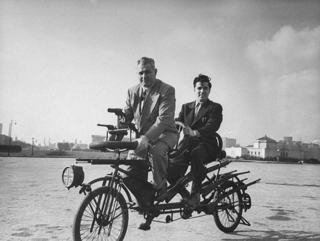 Gangbusters Bike, Chicago, 1948