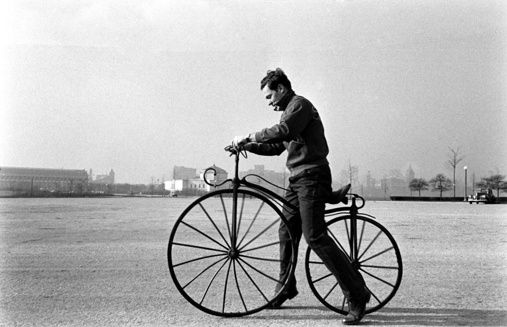 Bicycle inventions in Chicago 1948