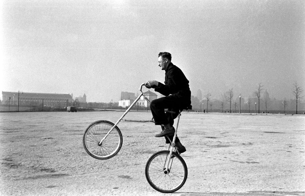 Rough ride, Chicago, 1948.