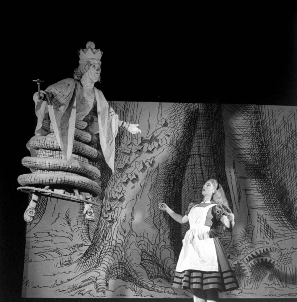 Alice in Wonderland NYC Theater production, 1947