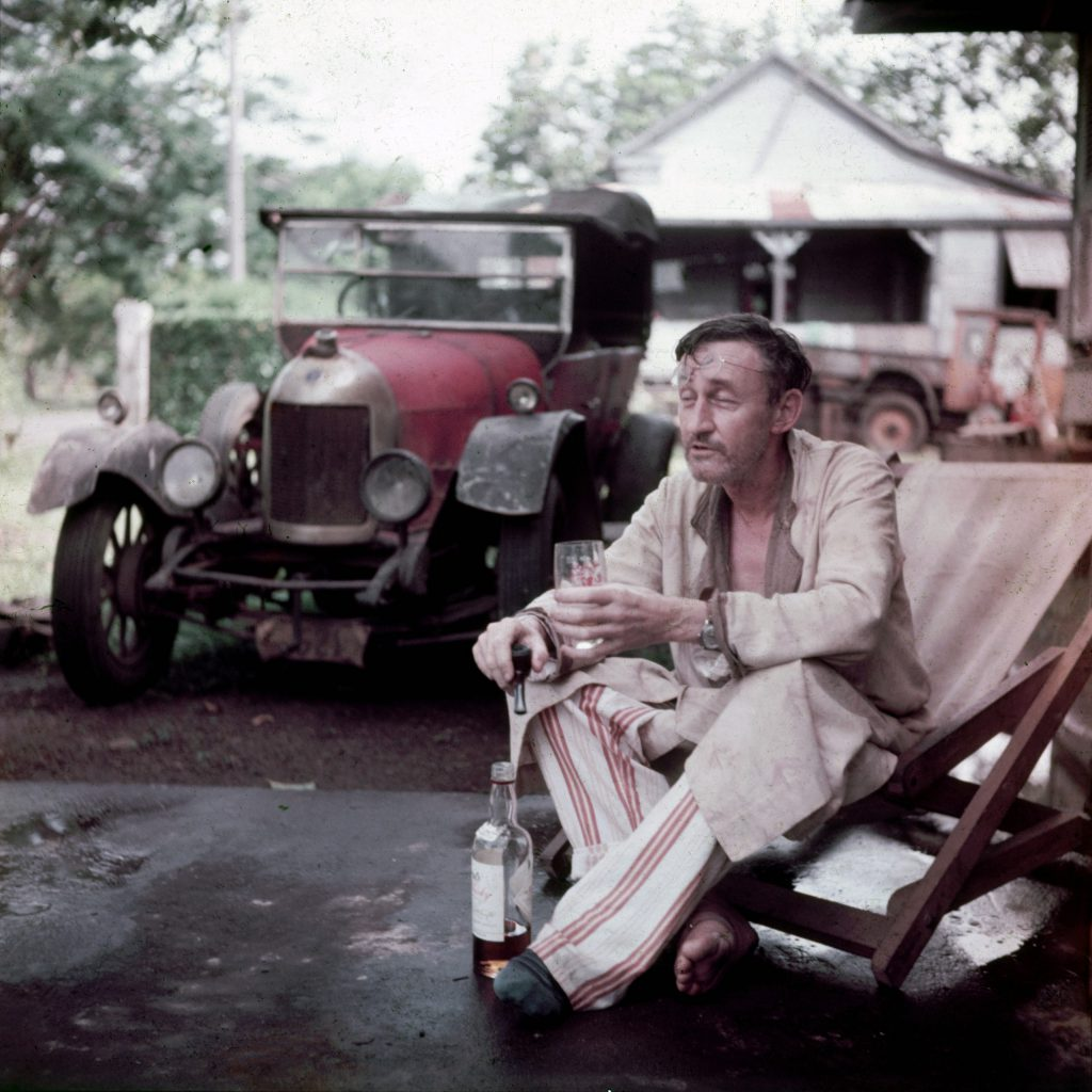 A resident of Apia amiably matching a literary portrait.