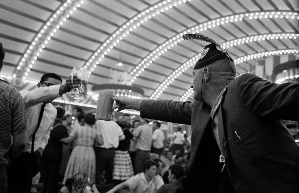 Oktoberfest in Germany, 1961.