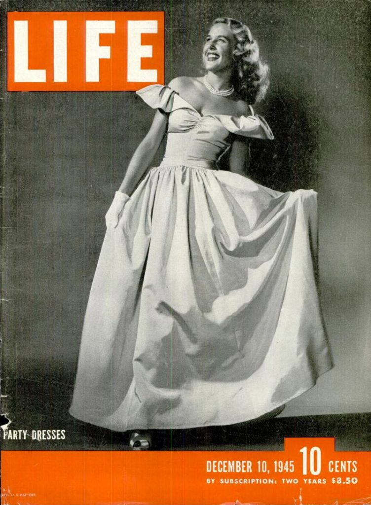 1940s LIFE Fashion Cover