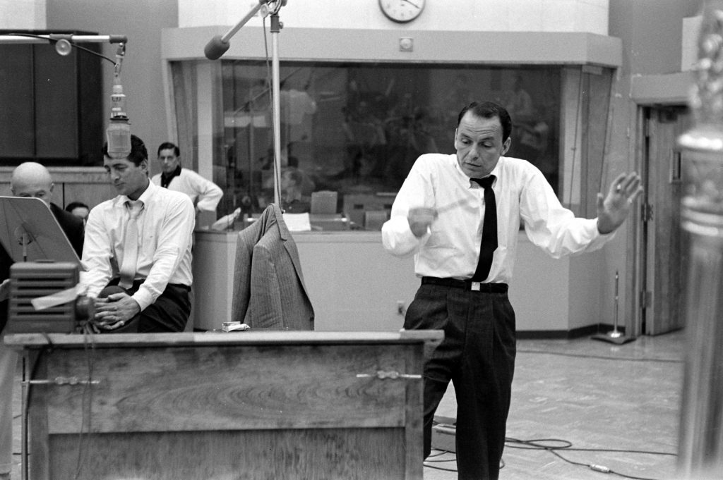 Dean Martin and Frank Sinatra, 1958.