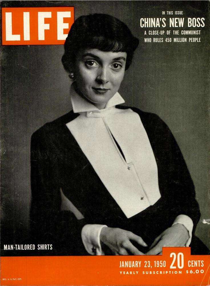 January 23, 1950 cover of LIFE magazine.