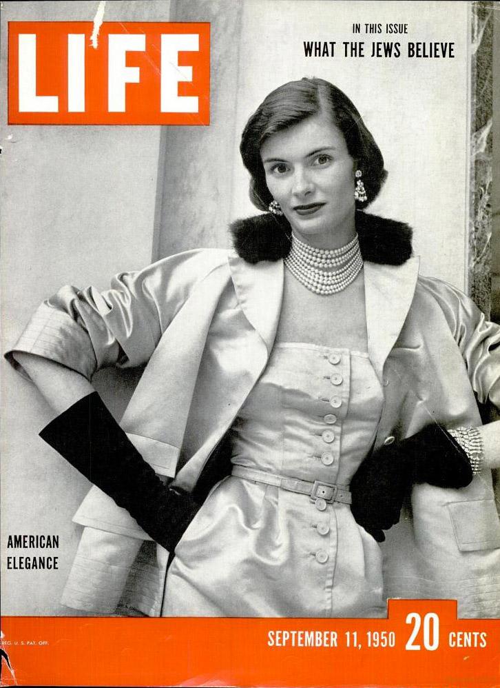 September 11, 1950 cover of LIFE magazine.