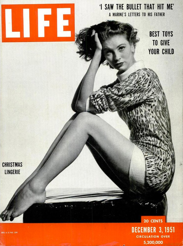December 3, 1951 cover of LIFE magazine.
