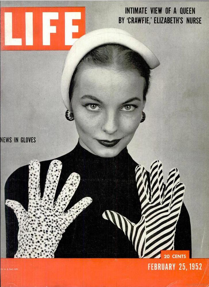 February 25, 1952 issue of LIFE magazine.