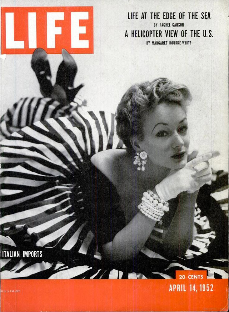 April 14, 1952 issue of LIFE magazine.