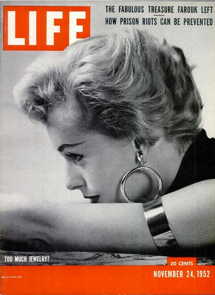 November 24, 1952 issue of LIFE magazine.
