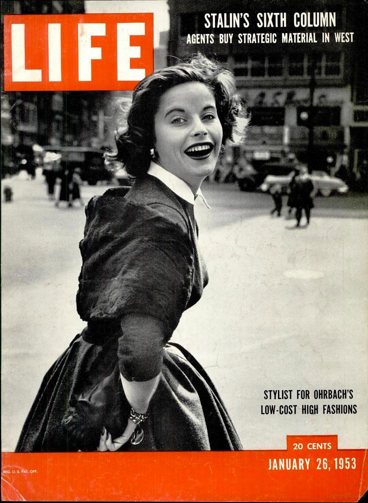 January 26, 1953 issue of LIFE magazine.