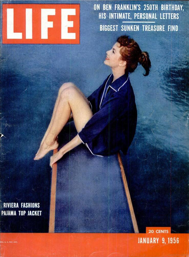 January 9, 1956 issue of LIFE magazine.