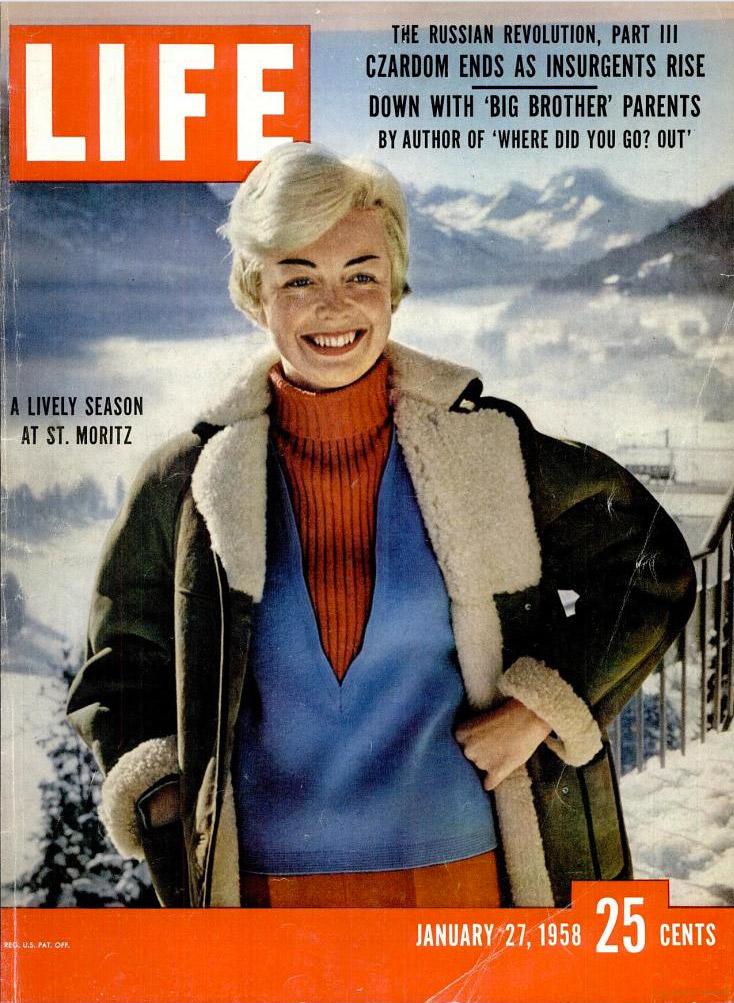 January 27, 1958 issue of LIFE magazine.