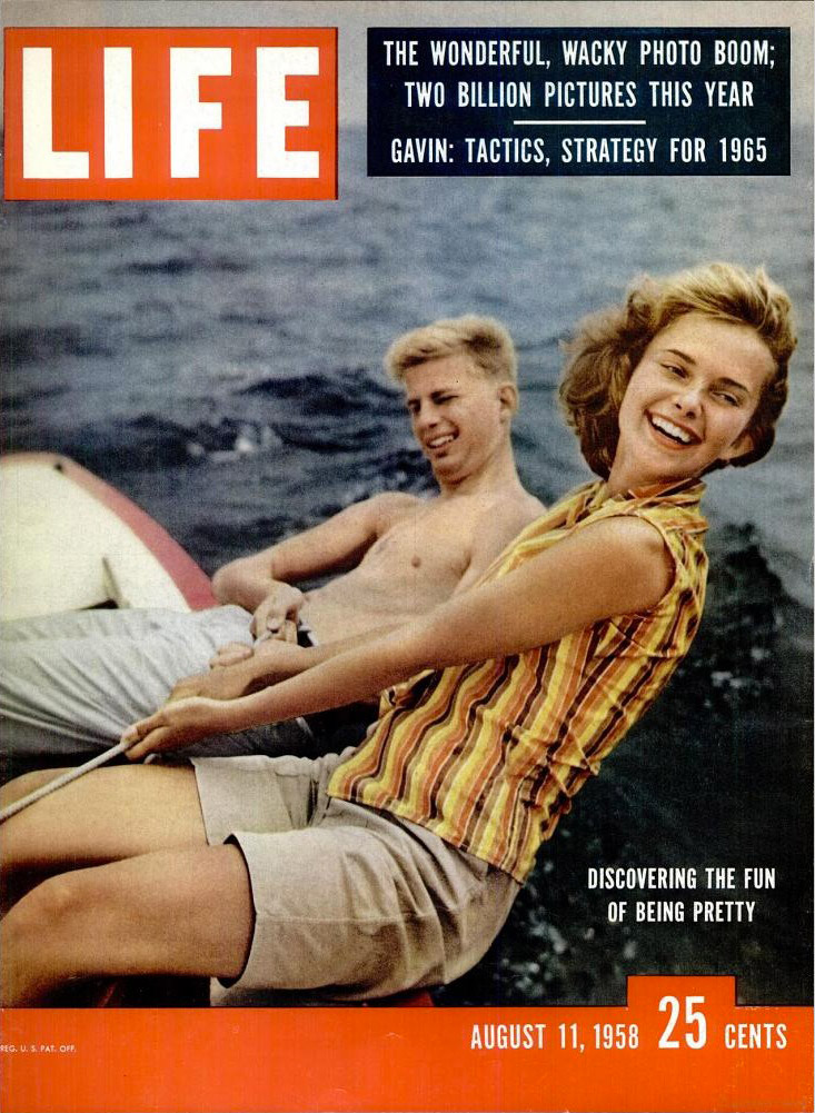 August 11, 1958 issue of LIFE magazine.
