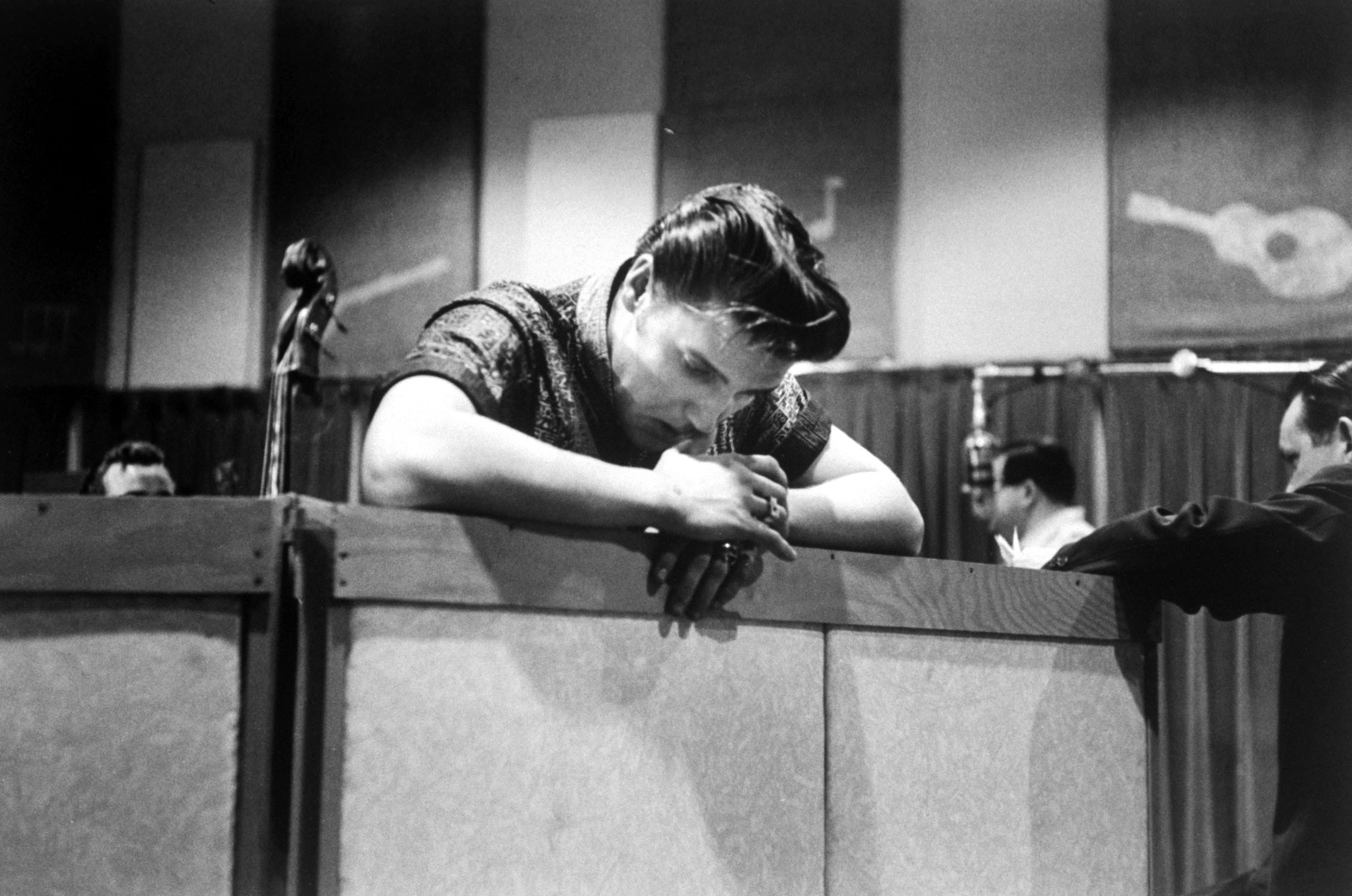 Elvis Presley in Nashville 1956