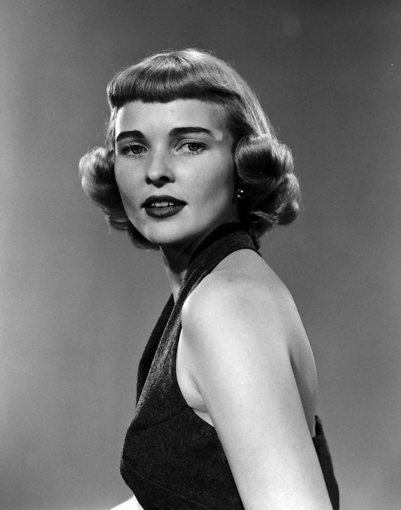 """Nell Owen, voted """"prettiest school teacher in the U.S."""" in 1953"""