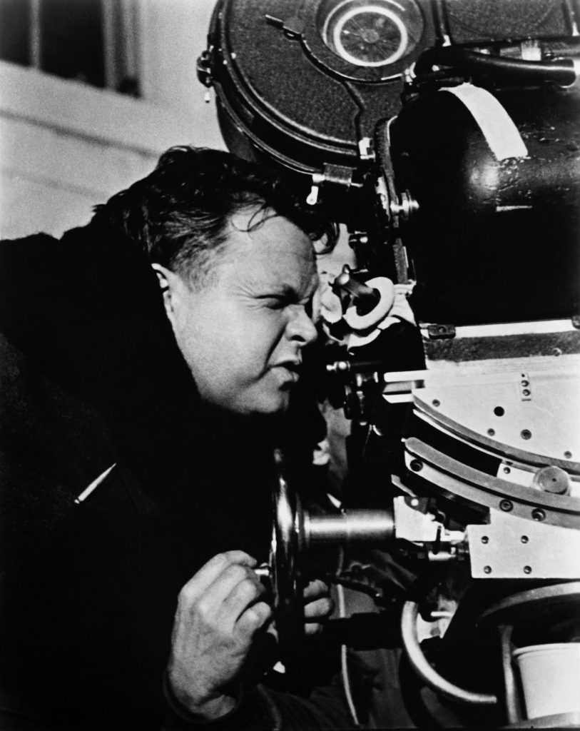 Touch Of Evil, director Orson Welles on set, 1958.