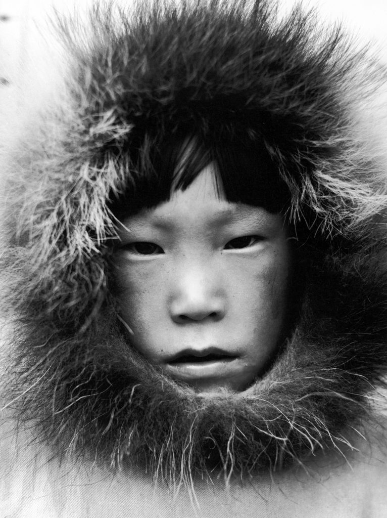Eskimo child in Canada, 1937.