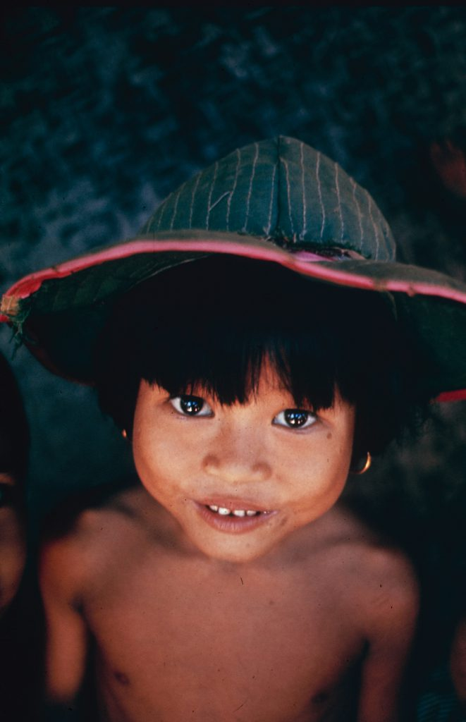 A young child in Vietnam, 1965.