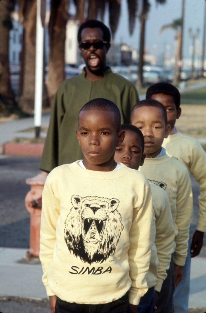 Children in the Watts neighborhood of Los Angeles, Calif., 1966.