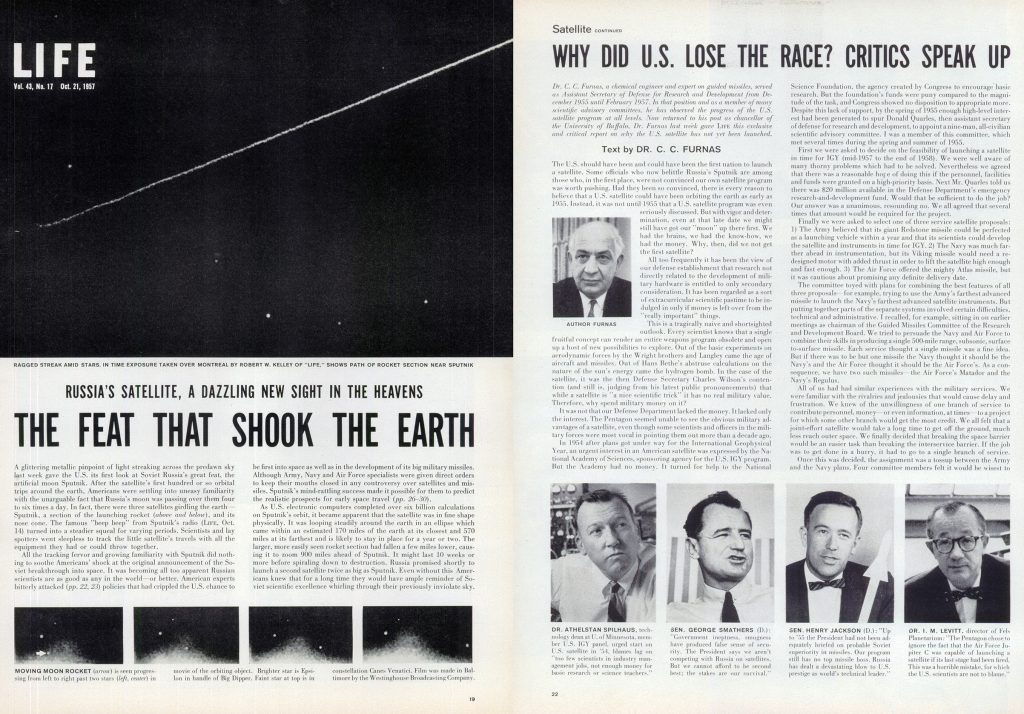 From the Oct. 21, 1957 LIFE magazine cover story.