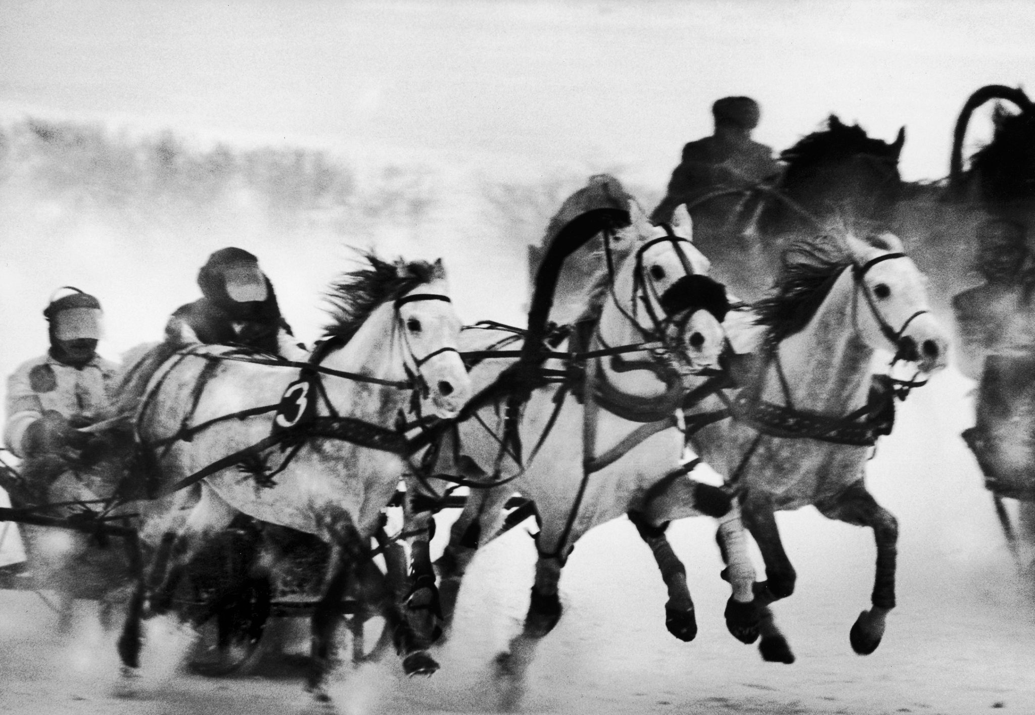 Troika race at Hippodrome, 1963.